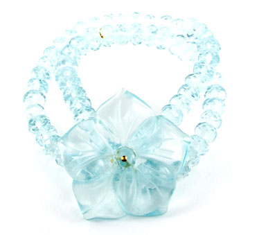 Mai Mai Jewels Aqua Quartz Flower Bracelet