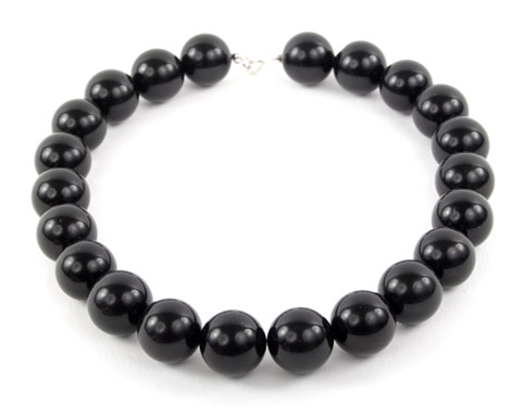 Black Oynx Bead Necklace