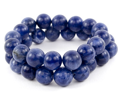 Blue Denim Sodalite Bracelets