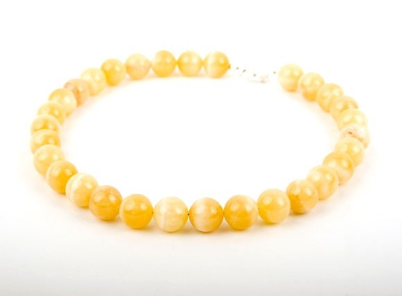 Lemon Sunshine Calcite Necklace