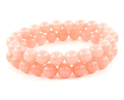 Malaysian Pink Jade Bracelets