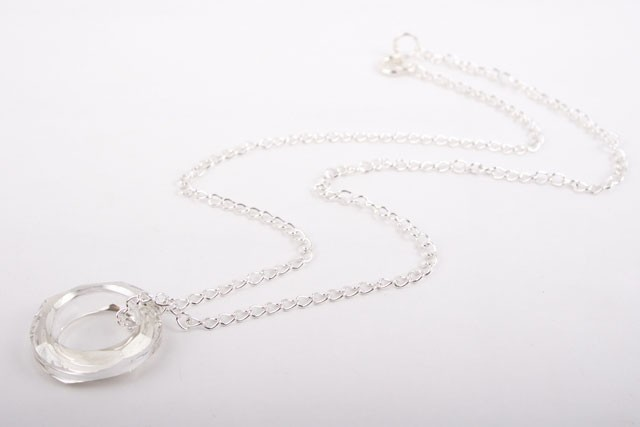 butterfly chain platinum s itm swarovski is crystal necklace image with loading pendant shaped plated