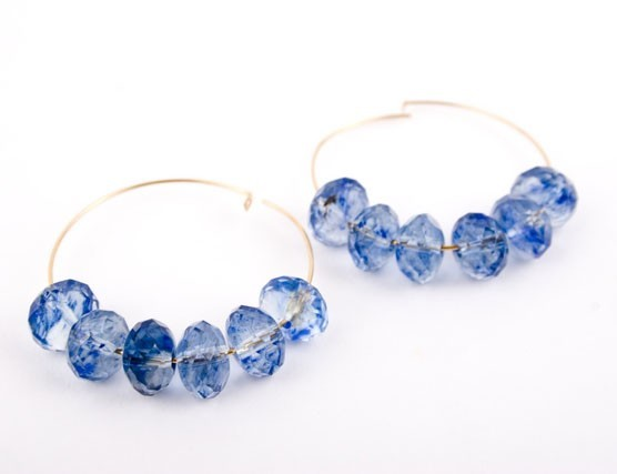 Tanzanite Quartz Earrings